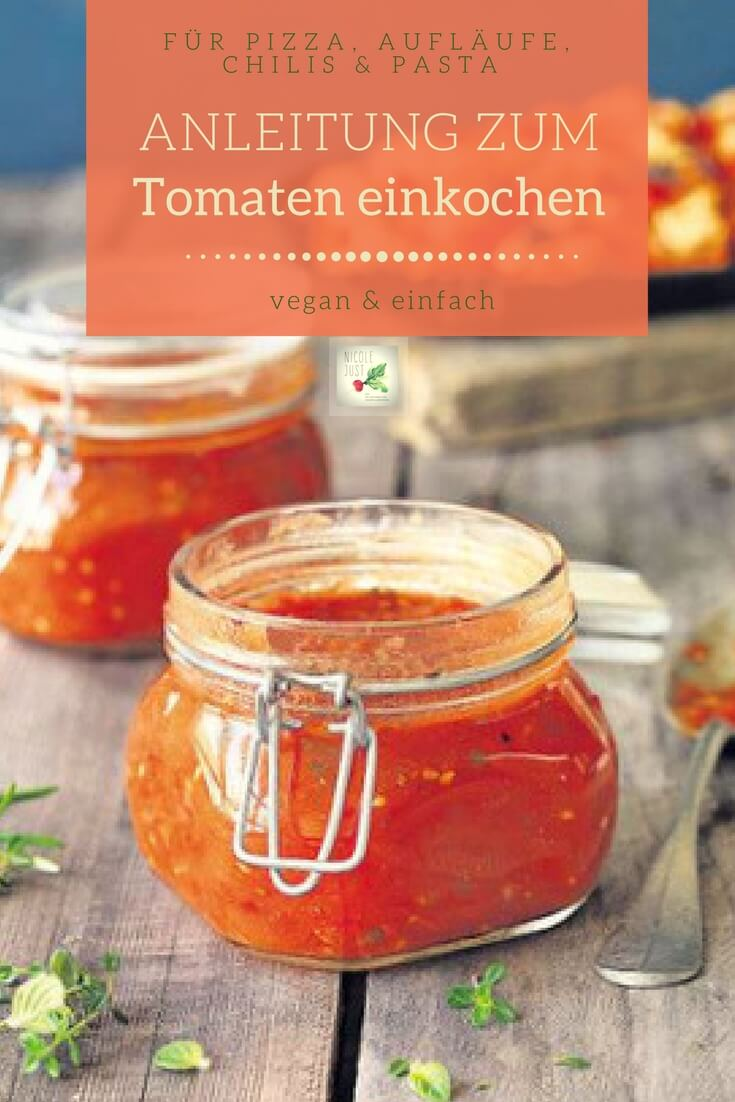 tomaten einkochen blog minified nicole just vegane rezepte vegan kochen leichtgemacht. Black Bedroom Furniture Sets. Home Design Ideas