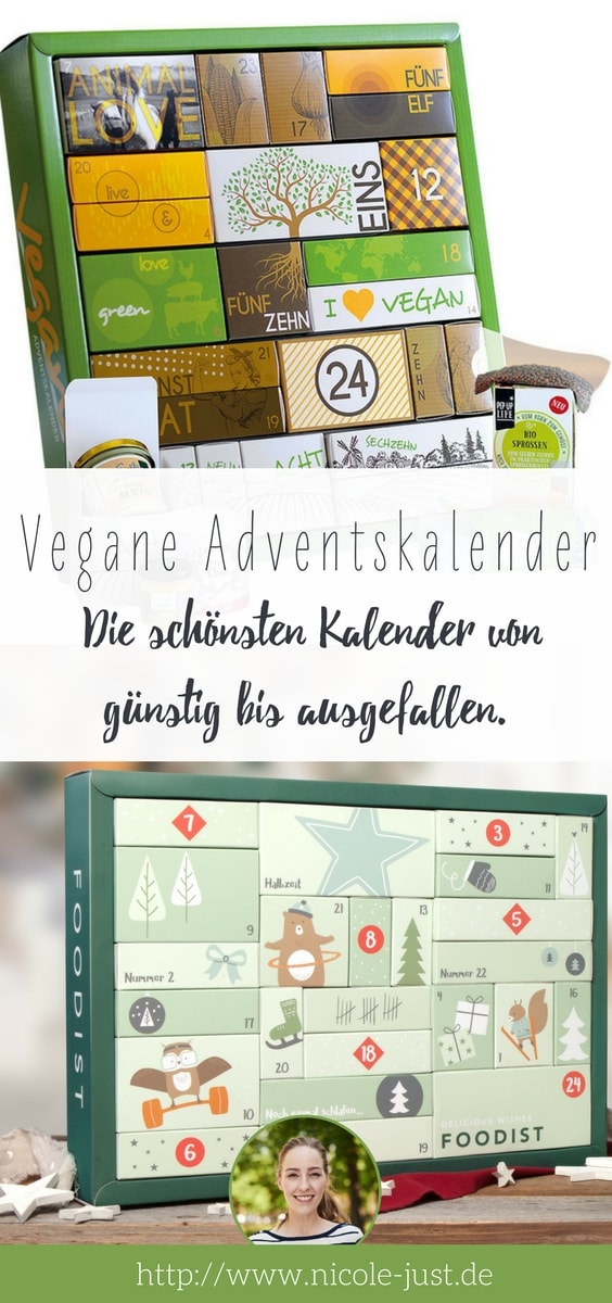 vegane Adventskalender 2017